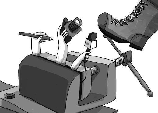 periodismo secuestrado