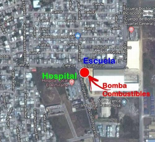 Localización de Bomba en ElAlmirante