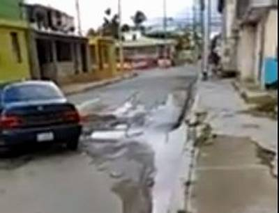 Calle Adolfo Sanchez en El Almirante